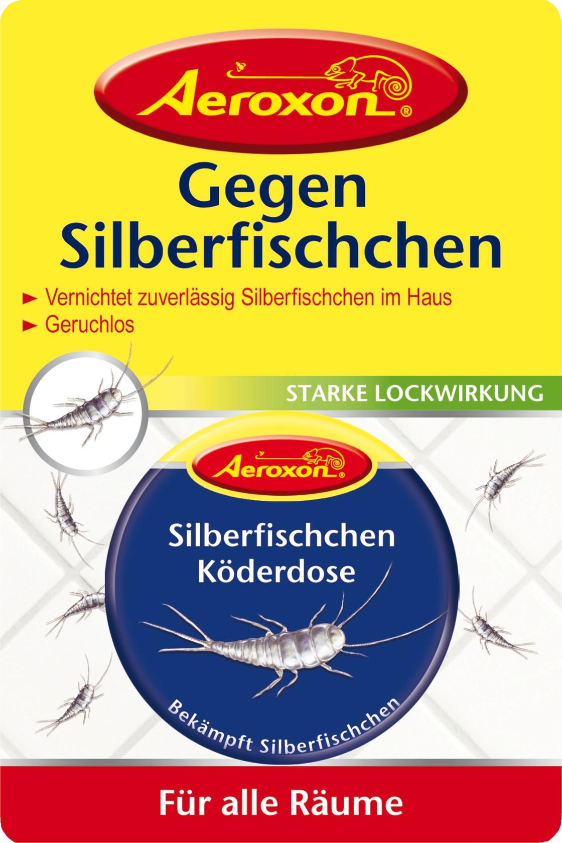 Aeroxon Silberfischchen Köderdose