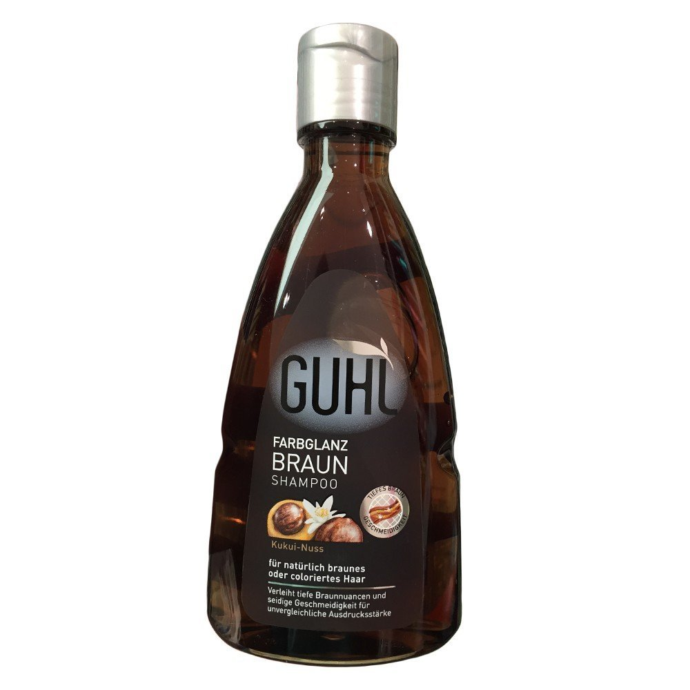 Drogerie Nord Pc Guhl Farbglanz Braun Kukui Nuss Shampoo 200ml